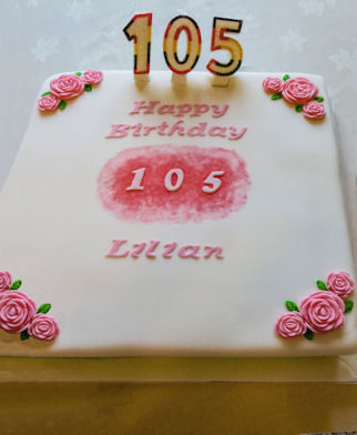 Lilian Yelland's Birthday Cake